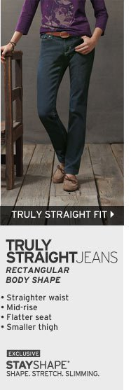 Women's Truly Straight Fit Jeans