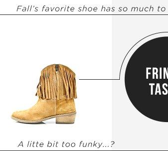 Diba Casper Fringe Boots