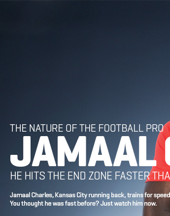 THE NATURE OF FOOTBALL PRO JAMAAL CHARLES