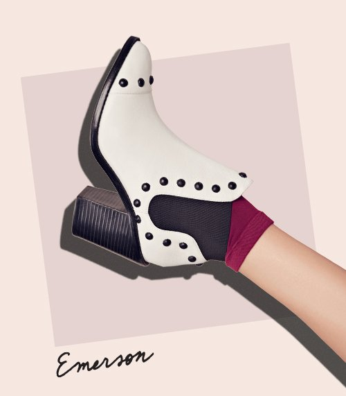 Shop the Emerson Slip-On Bootie at the official Loeffler Randall Store www.LoefflerRandall.com