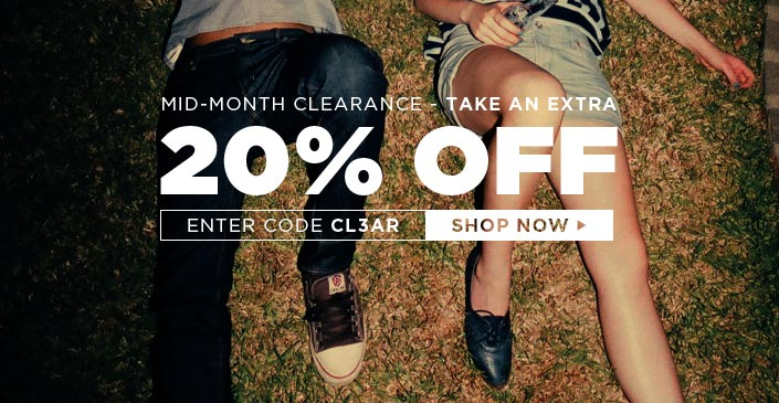 Click to shop mid-month clearance!