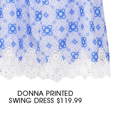DONNA SWING DRESS