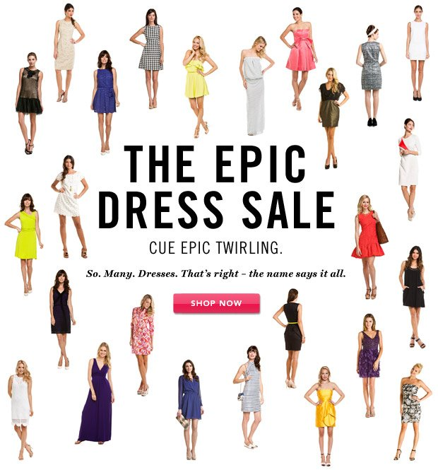 The Epic Dress Sale