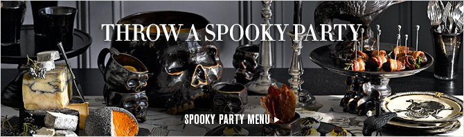 THROW A SPOOKY PARTY - SPOOKY PARTY MENU