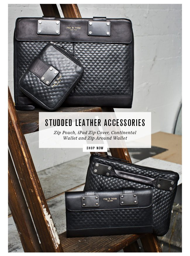 Studded Leather Accessories
