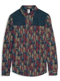 Plectrum Donkey-Style Spirit of Union Print Shirt