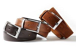 Starting at $29: Belts