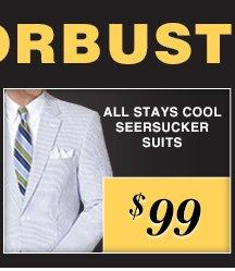 $99 USD - Stays Cool Seersucker Suits