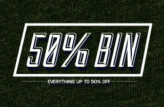 50% Off Bin