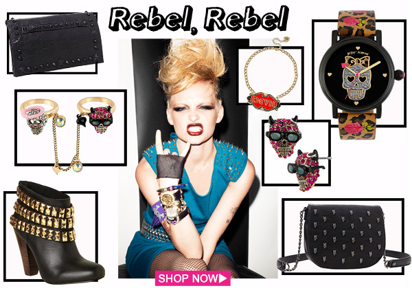 Rebel, Rebel! Shop Now