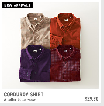CORDUROY SHIRTS