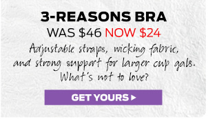 3-Reasons Support Bra ›