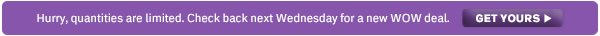 It's WOW Only Wednesday! ›