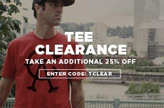 Tee Clearance