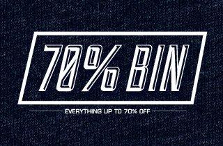75% Off Bin