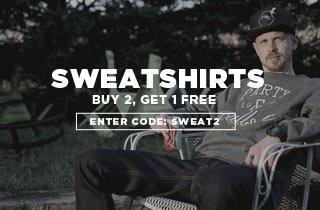 Sweatshirts Buy 1, Get 1 Free
