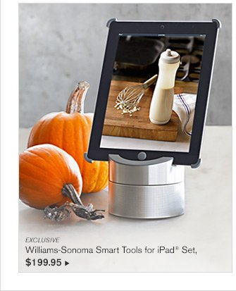 EXCLUSIVE - Williams-Sonoma Smart Tools for iPad® Set, - $199.95
