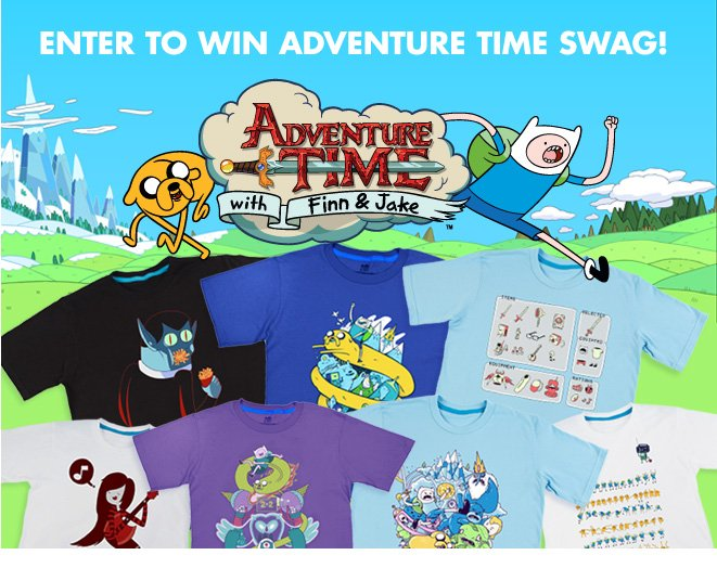 Win Adventure Time Swag!