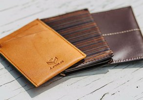 Shop Leather Wallets & Belts ft. J. Fold