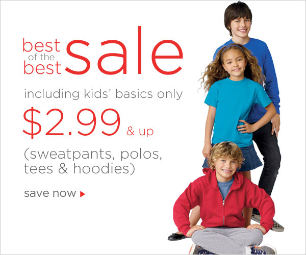 Kids Basics as low as $2.99