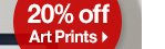 20% off Art Prints