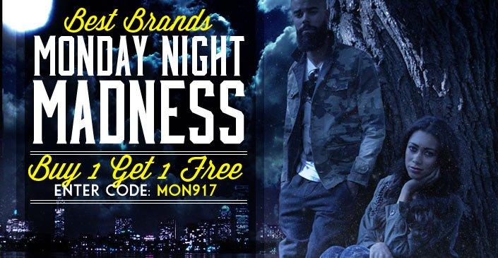 Best Brands. Buy 1, Get 1 Free