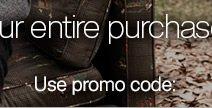 Use promo code: