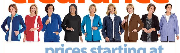 Outerwear Clearance - Prices Starting at $4.99 - Shop Now
