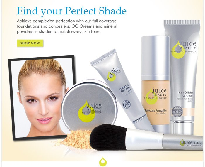 Find your Perfect Shade