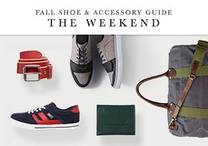 Fall Shoe & Accessory Guide: The Weekend