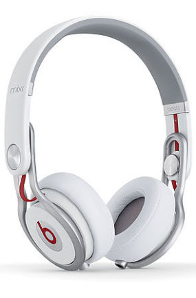 The Mixr On-Ear Headphones in White