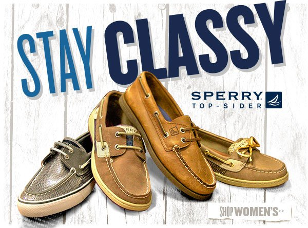 Stay Classy with Sperry + Free Shipping
