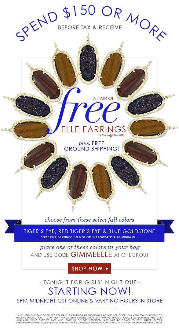 Free Elle Earrings