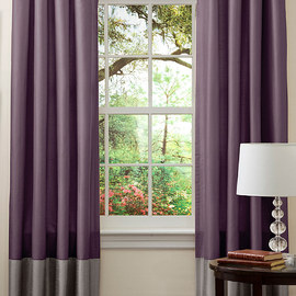 Splash of Color: Curtains