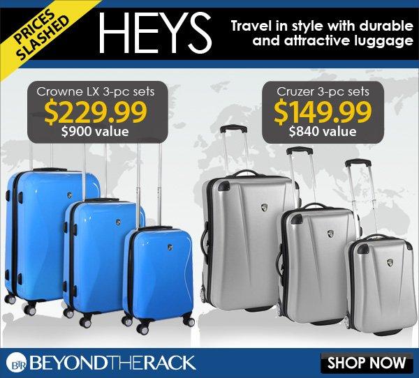 Heys - Prices Slashed