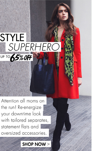 STYLE SUPERHERO - UP TO 65% OFF