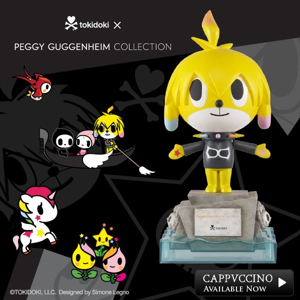 the tokidoki x Peggy Guggenheim Collection has arrived!