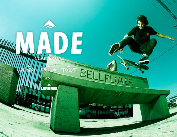 Emerica welcomes Jeremy Leabres