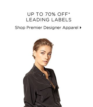 Up To 70% Off* Leading Labels
