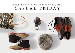 Fall Shoe & Accessory Guide: Casual Friday