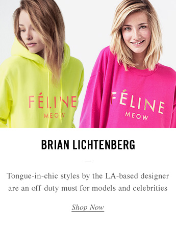 Tongue-in-chic styles by Brian Lichtenberg