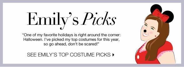 Emily's Top Costume Picks