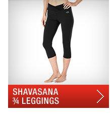 SHAVASANA 3/4 LEGGINGS