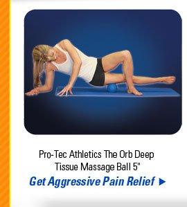 "Pro-Tec Athletics The Orb Deep Tissue Massage Ball 5"""