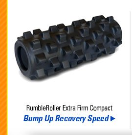 RumbleRoller Extra Firm Compact