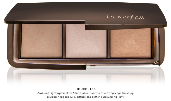 Step into the light with the Hourglass Ambient Lighting Palette.