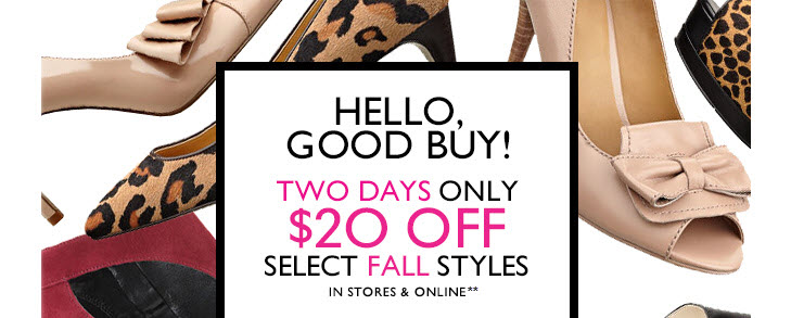 Click here  to shop this sale.