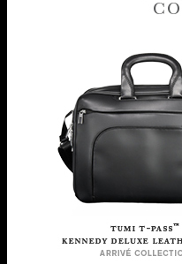 Shop Tumi T-pass Kennedy Deluxe Leather Brief