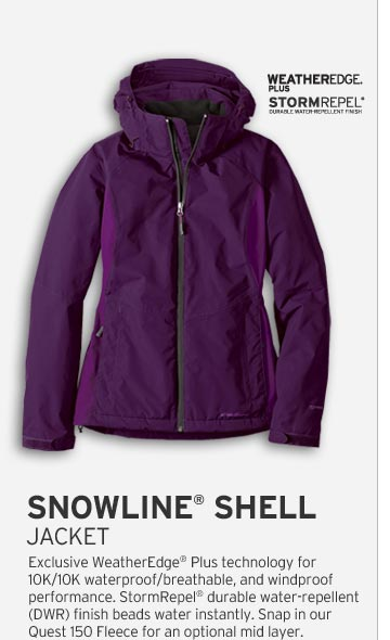 Women's Snowline Shell Jacket