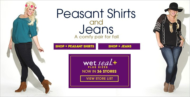 Peasant Shirts and Jeans